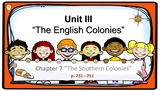 PPT US History Chapter 7 The Southern Colonies Presentation