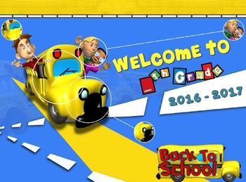 PPT Welcome Back To School (First Day) Presentation (Editable)