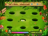 PPT: Whack a mole Game. All the cartoon Charactors that st