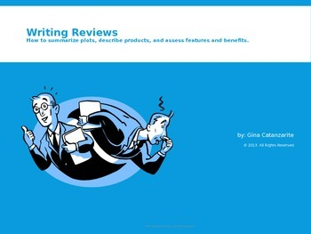 PPT Writing Reviews: Summarize Plots, Describe Products and More!