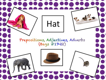 VB Assessment Kit - Prepositions, Adjectives, Adverbs - Autism / ABA
