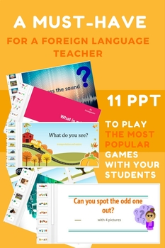 PPT for kids learning a foreign language