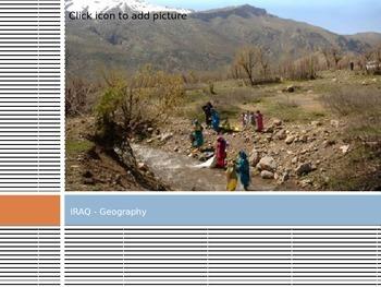 PPT on Afganistan, Saudi Arabia & Iraq - Intermediate grades