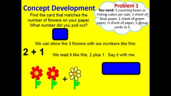 PPT to go with Engage NY Kindergarten Grade Common Core Math Module 1-Topic C