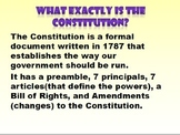 PPT with Principals, Articles,Bill of Rights and more with