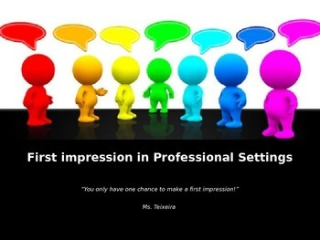 Nonverbal Communication and First Impressions POWERPOINT