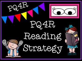 PQ4R Reading Strategy Presentation, Handout, and Graphic O