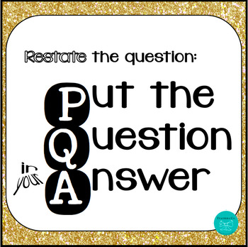 PQA Restate the Question