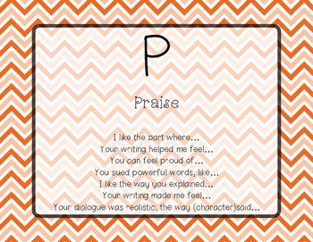 PQP Praise, Question, Polish