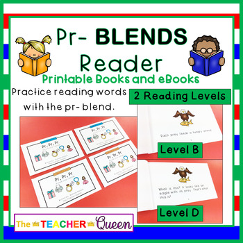 PR- Blend Readers Levels B and D (Printable and Projectable Books)