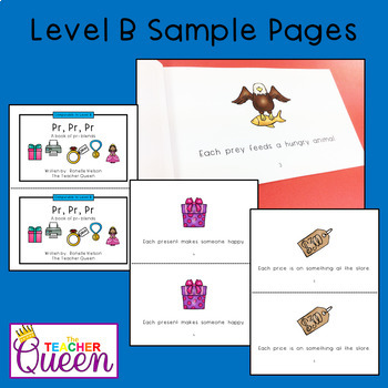 PR- Blend Readers Levels B and D (Printable Books and eBooks)