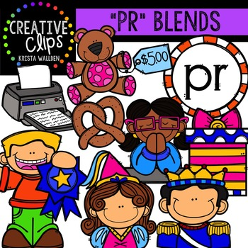 PR Blends {Creative Clips Digital Clipart}