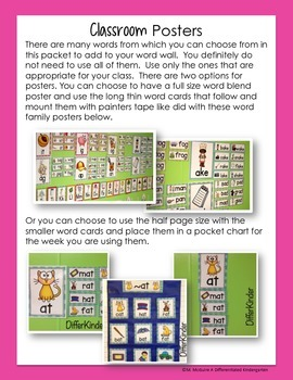 PR Blends Word Work Galore-Differentiated and Aligned Activities and Instruction