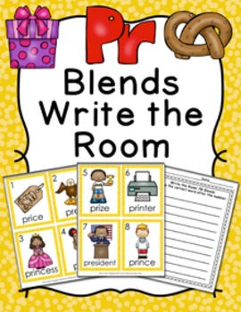 PR Blends Write the Room Activity