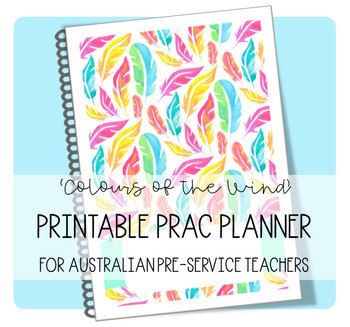 PRAC PLANNER 2018 'COLOURS OF THE WIND'