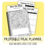 PRINTABLE PRAC PLANNER - 'CLEO' B&W DESIGN