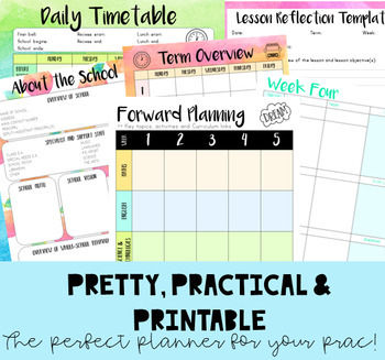 PRAC PLANNER 'OVER THE RAINBOW' - UPDATED FOR 2019