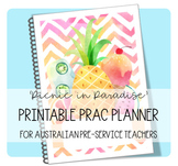 PRAC PLANNER 'PICNIC IN PARADISE' - UPDATED FOR 2019