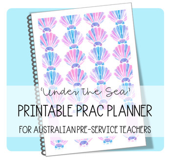 PRAC PLANNER 'UNDER THE SEA' - UPDATED FOR 2019
