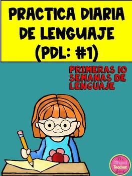 PRACTICA DIARIA DE LENGUAJE (PDL)