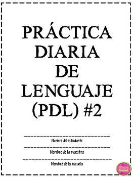 PRACTICA DIARIA (PDL) VOLUMEN 2 IN SPANISH