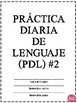 PRACTICA DIARIA (PDL) VOLUMEN 2 IN SPANISH