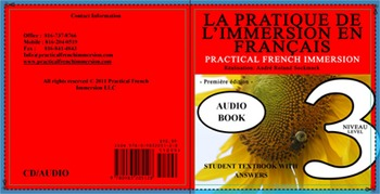 PRACTICAL FRENCH IMMERSION LEVEL 3 - AUDIO TEXTBOOK