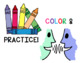COLOR & PRACTICE: Spring-Themed Multisyllabic Words