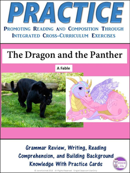 PRACTICE The Dragon and the Jaguar Task Cards Activity