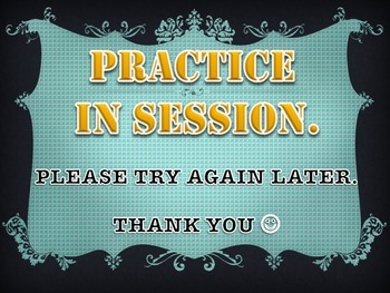 PRACTICE IN SESSION Print out for music students