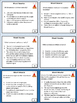 Revise and Edit Mount Vesuvius Task Cards Activity