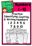 PRACTICE NUMBER RECOGNITION, WRITING, & IDENTIFYING 1-10