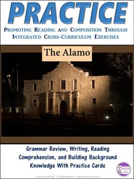 PRACTICE The Alamo Task Cards Activity  Alamo