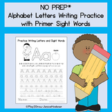 Write Uppercase and Lowercase with Sight Words - Advanced