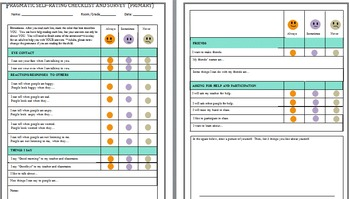 PRAGMATIC SELF-RATING CHECKLIST AND SURVEY (PRIMARY)
