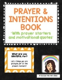 PRAYER & INTENTION BOOK COVER & PRAYER PROMPTS