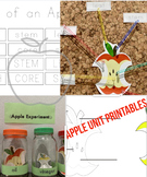 PRE-K APPLES | Diagram Labels Coloring Sheets and Assorted