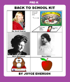 PRE-K BACK TO SCHOOL KIT {LIT, CLIPART ETC HANDY YEAR-ROUND, 95 PP}