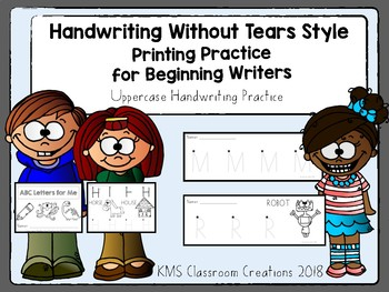 Handwriting Without Tears Review. Printing Practice for Beginning Writers.