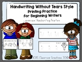 Handwriting Without Tears Review. Printing Practice for Be