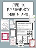 PRE-K Emergency Sub Plans (No Prep)
