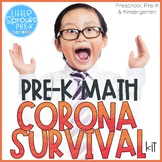 PRE-K MATH CORONA SURVIVAL KIT ● Games and Activities for