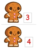 PRE-K Theme unit Kinder Gingerbread food syllables read pictures