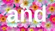 PRE-Kindergarten Dolch Sight Words Powerpoint - SPRING FLORAL THEME