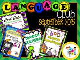 September 2015 Language Club