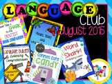 August 2015 Language Club