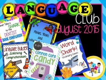 August 2015 Language Club