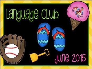 June 2015 Language Club