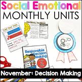 Social Emotional Learning - NOVEMBER