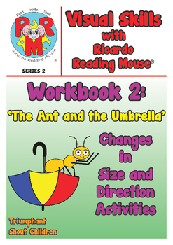 PRE-READING Visual Skills Series 2: Workbook 2 - Changes in Size & Direction